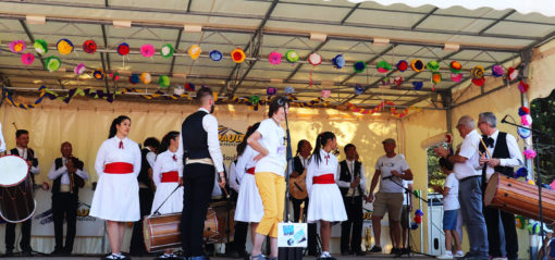 Groupe Folklorique Bandura et Theo Pastor