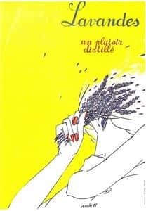 Fête de la lavande affiche 1985