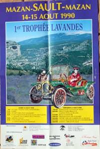 Fête de la lavande affiche 1990
