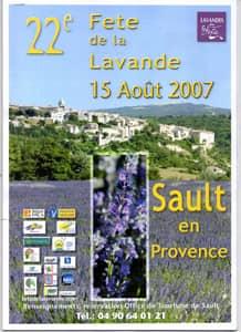 Fête de la lavande affiche 2007