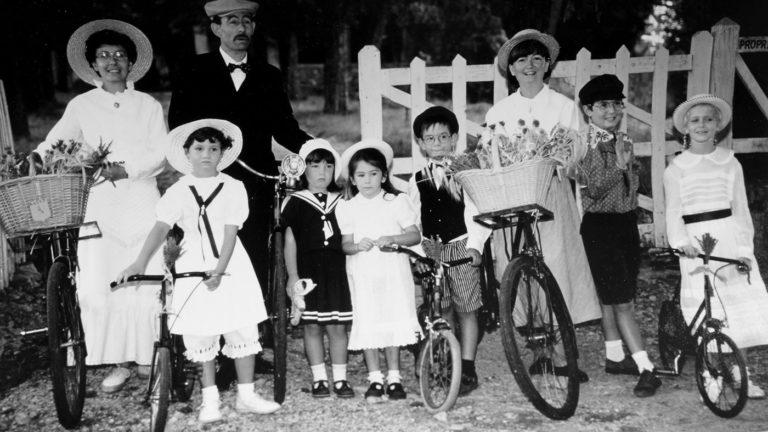 Vélo ancien Liardet à Sault