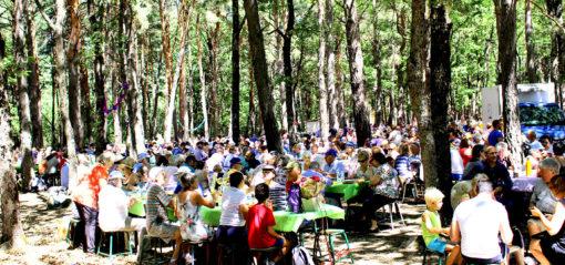 Déjeuner du 15 août Fête de la lavande